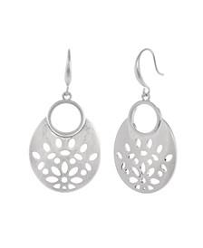 Oval Filigree Earrings