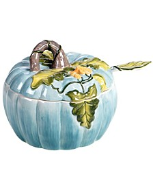 Harvest Gatherings Pumpkin Tureen with Ladle
