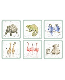 Zoological Coaster - Set of 6