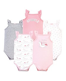 Girls Sleeveless Bodysuits