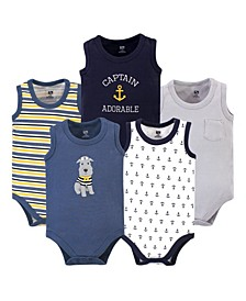 Boys Sleeveless Bodysuits