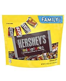 Miniatures Chocolate Candy Assortment, 17.6 oz