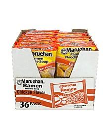 Nissin Top Ramen Chicken Ramen Noodle Soup, 3 oz, 48 Count