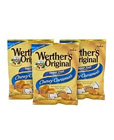 Chewy Caramels Sugar Free, 2.75 oz, 3 Pack