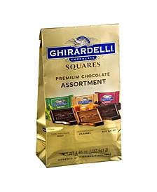 Chocolate Squares Premium Assortment, 4.85 oz, 3 Pack