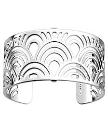 Loop Openwork Adjustable Cuff Poisson Bracelet, 25mm, 1in
