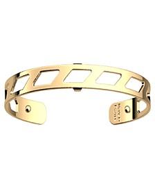 Geometric Openwork Extra-Thin Adjustable Cuff Bracelet, 8mm, 0.3in