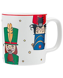 Holiday Cheer Nutcracker Mug, Created for Macy's