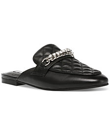 Steve Madden Women's Kalista Quilted Chain Mules