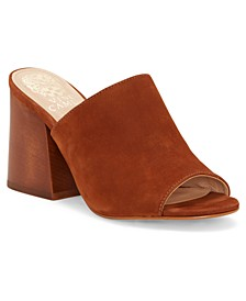 Women's Keeran Block-Heel Mules