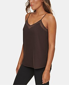 X-Fit V-Neck Illusion Cami