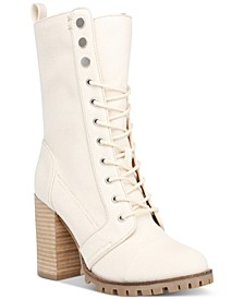 Ayleen Heeled Lug Sole Combat Boots