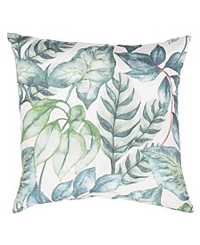 "Botanical Print 20"" x 20"" Outdoor Decorative Pillow"