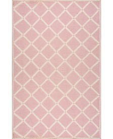 Takako MTVS173B Pink 6' x 9' Area Rug