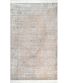 Cantrell DCRS03C Beige 6' x 9' Area Rug