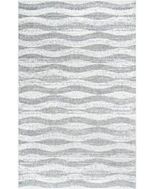 Tristan BDSM02A Gray 4' x 6' Area Rug