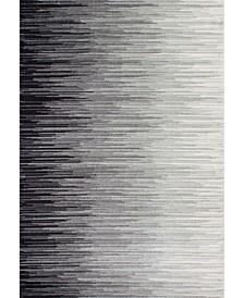 Lexie RZBD15A Black 2' x 3' Area Rug