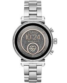 Access Women's Gen 4 Sofie  Stainless Steel Bracelet Touchscreen Smart Watch 41mm, Powered by Wear OS by Google™