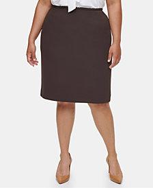 Calvin Klein Plus Size Pencil Skirt