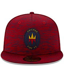 Chicago Fire 2020 On-field 59FIFTY Cap