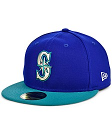 Seattle Mariners Plate Patch 59FIFTY Cap