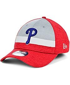 Men's Philadelphia Phillies Striped Shadow Tech 39THIRTY Cap