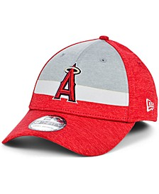 Los Angeles Angels Youth Striped Shadow Tech 39THIRTY Cap