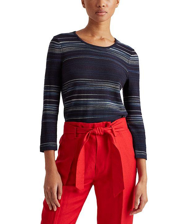 Lauren Ralph Lauren Scoop Neck Sweater