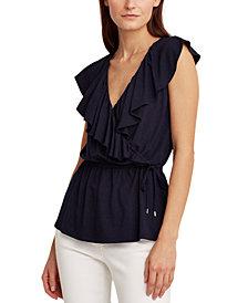 Lauren Ralph Lauren Sleeveless Knit Top