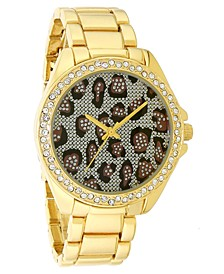 INC Women's Gold-Tone Bracelet Watch 38mm, Created for Macy's