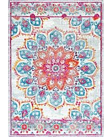 Kiyoko RZBD59B Pink 3' x 5' Area Rug