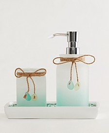 Sea Glass 3-Pc. Bath Accessory Set