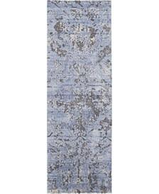 """Lucent LCN01 Mist 2'3"""" x 8' Runner Rug"""