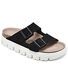 Women's Arizona Suede Leather Platform Sandals from Finish Line