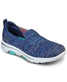 Women's GOwalk 5 - Mirage Slip-On Walking Sneakers from Finish Line