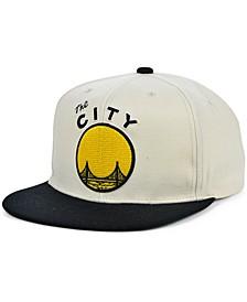 San Francisco Warriors Natural XL Snapback Cap
