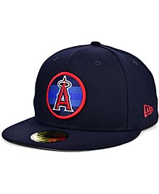 Los Angeles Angels Circle Fade 59FIFTY Cap