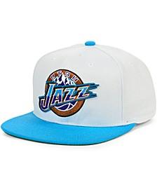 Utah Jazz Fresh Crown Snapback Cap
