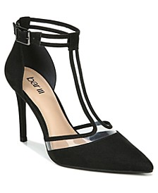 Women's Connden T-Strap Pumps, Created for Macy's
