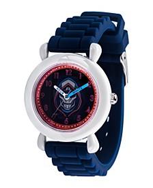 Marvel Black Widow Taskmaster Boys' Grey Plastic Watch 32mm