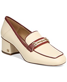 Flo Block-Heeled Bit Loafers
