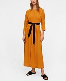 Bow Midi Dress