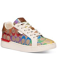 Women's Lowline Rainbow Signature Pride Sneakers