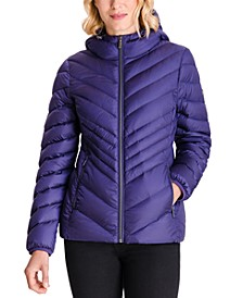 Hooded Packable Down Puffer Coat, Created for Macy's