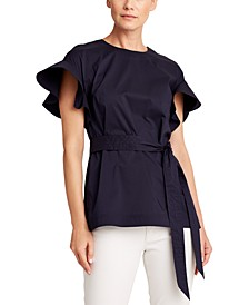 Petite Twisted-Front Top