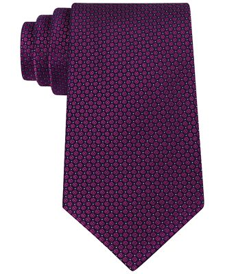 Slim Textured Silk Tie Calvin Klein