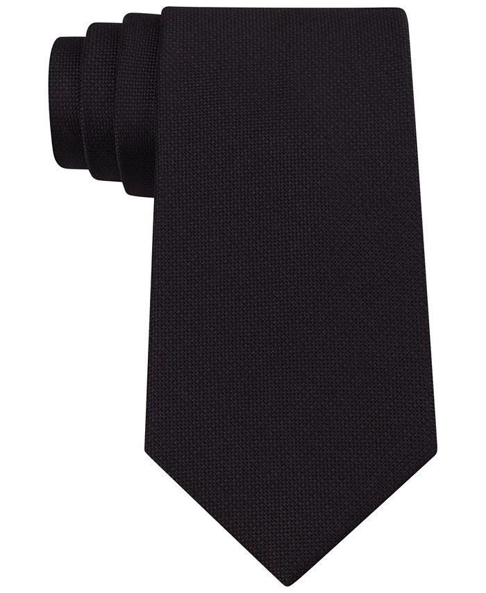 Calvin Klein - Tie, Silver Spun Solid