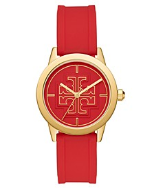 Women's Gigi Red Silicone Strap Watch 36mm