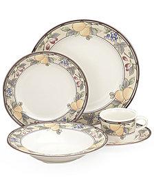 """Mikasa """"Garden Harvest"""" Dinner Plate"""