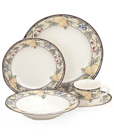 """Mikasa """"Garden Harvest"""" 5-Piece Place Setting with Soup Bowl"""